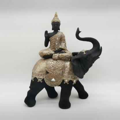 bouddha sur éléphant