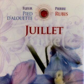 Fleur & Pierre de naissance - Juillet
