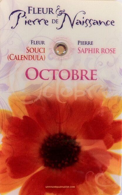 Fleur & Pierre de naissance - Octobre