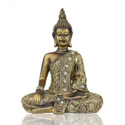 bouddha doré meditation