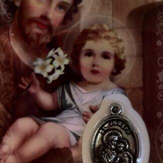Carte Médaille - St-Joseph