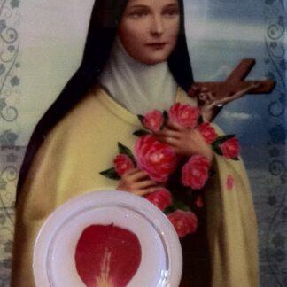 Carte Médaille - Sainte-Thérèse