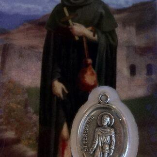 Carte Médaille Saint-Pérégrin