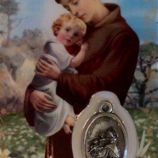 Carte médaille Saint-Antoine