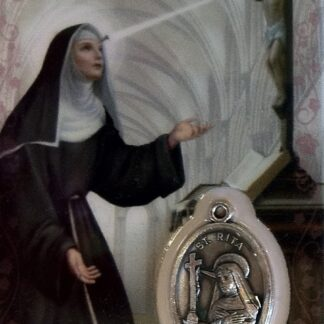 Carte médaille Sainte-Rita