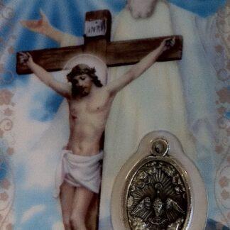 Carte médaille Sainte-Trinité
