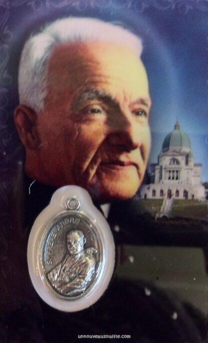 Carte médaille Frère André