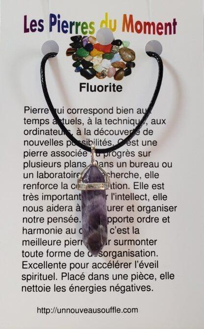 collier fluorite