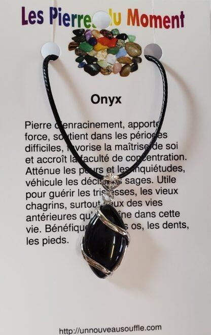 collier onyx