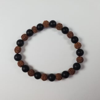 bracelet tourmaline_graine de rudraksha
