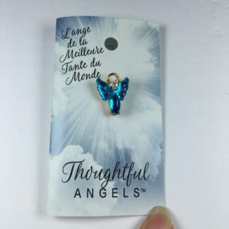 epinglette l'ange de la meilleure tante du monde_a