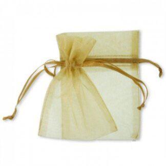 pochette organza -dorée