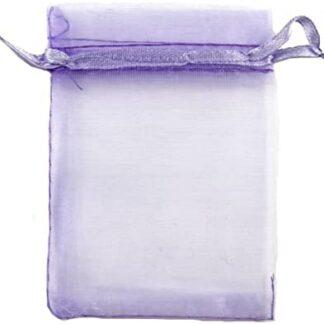 pochette organza - lilas