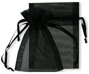 pochette organza - noire