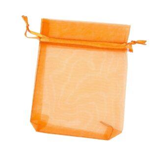 pochette organza - orange