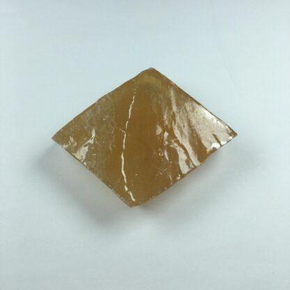 Calcite jaune ou dorée brute