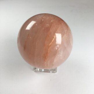 Quartz hématoïde - sphère