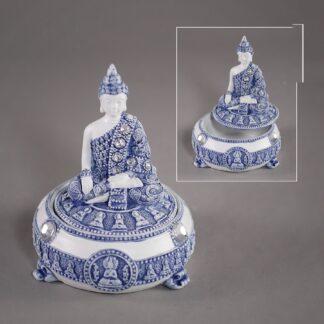 Bouddha bleu - coffret