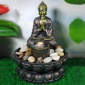 Fontaine bouddha prieur