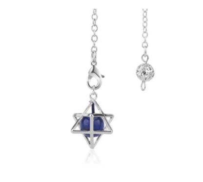 Pendule merkaba - lapis lazuli