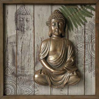 Cadre bouddha 3D