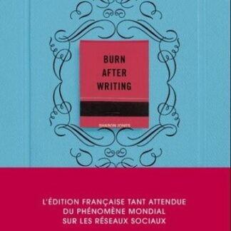 Burn after writing (Bleu)